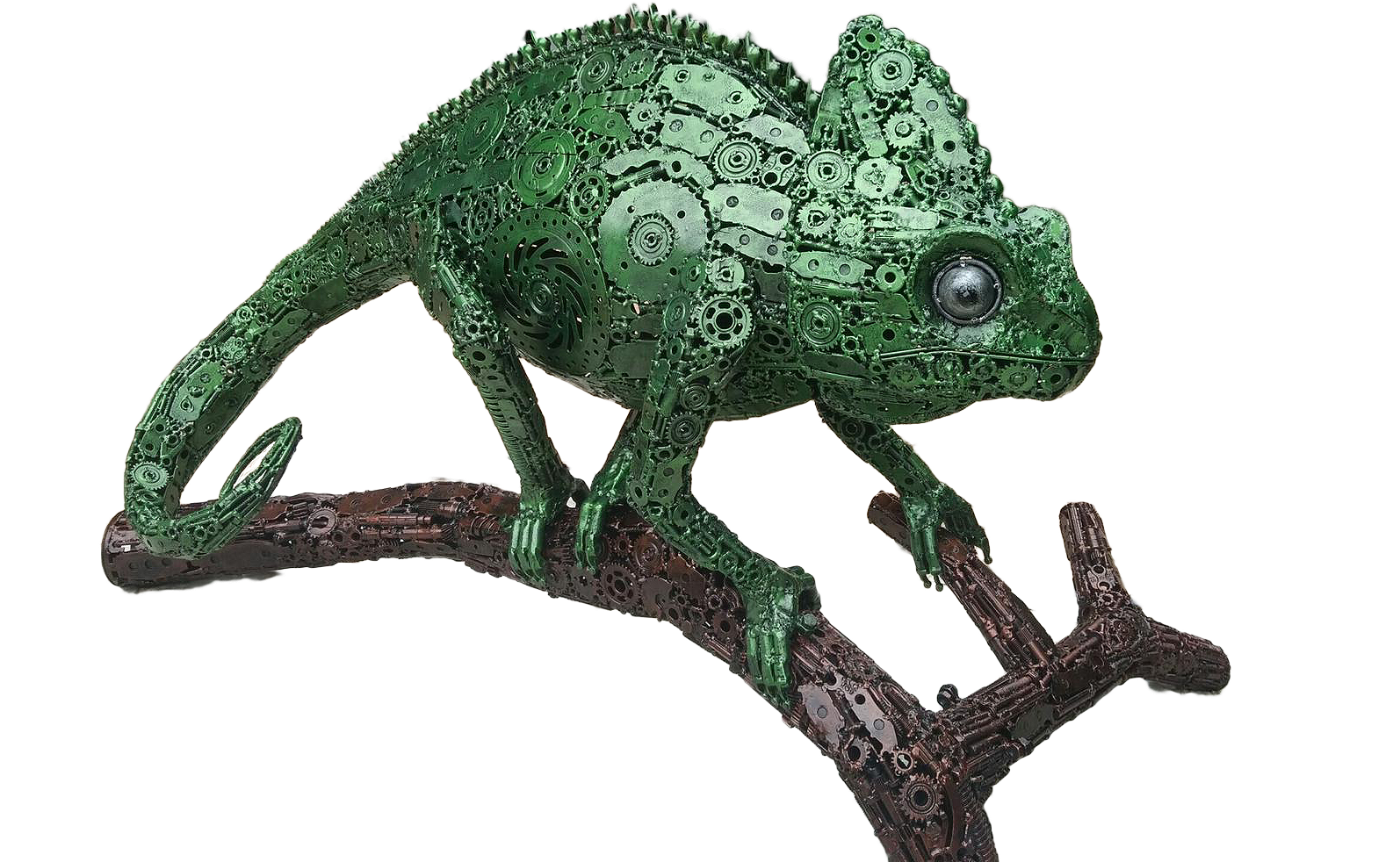 Amating Metal Art Gallery - Chameleon