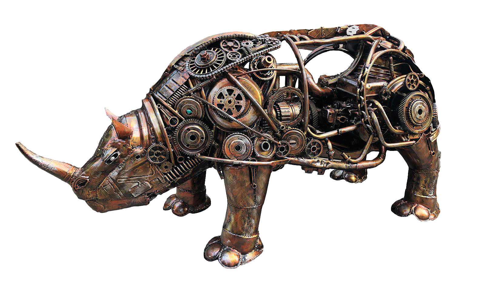 Amating Metal Art Gallery - Rhinoceros